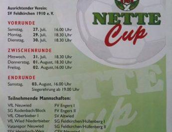 Plakat zum Deichstadtpokal 2013