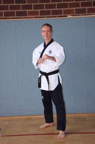 Trainer für Taekwondo Matthias Schneider