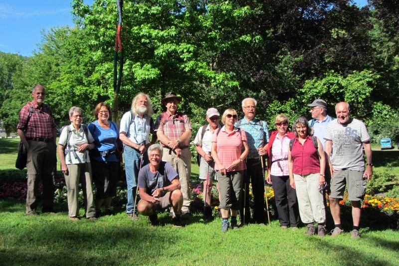 Ausflug der Wandergruppe der TSG Irlich zum Fünfseenblick