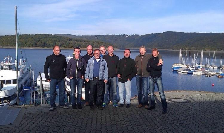 Die Alte Herren der TSG Irlich on Tour.