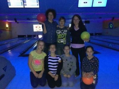 Kindertrungruppe beim Bowling 2014