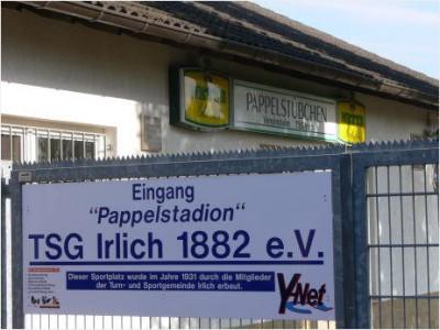 Pappelstadion Irlich - Heimat der TSG Irlich