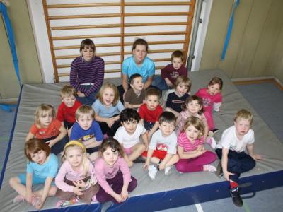TSG Irlich - Kinderturngruppe der 3- bis 6-jährigen 2009