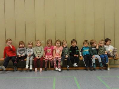 TSG Irlich - Kinderturngruppe der 3- bis 6-jährigen 2011