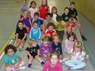 TSG Irlich - Kinderturngruppe der 3- bis 6-jährigen 2015