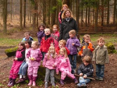 TSG Irlich - Kinderturngruppe bei der Herbstwanderung 2012