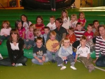 TSG Irlich - Kinderturngruppe bei der Weihnachtsfeier 2007