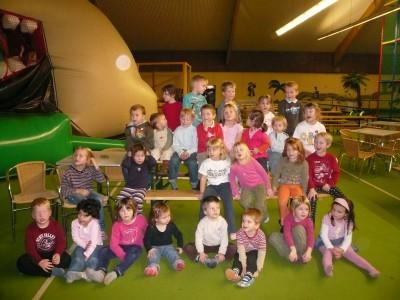 TSG Irlich - Kinderturngruppe bei der Weihnachtsfeier 2008