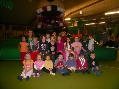 TSG Irlich - Kinderturngruppe bei der Weihnachtsfeier 2010