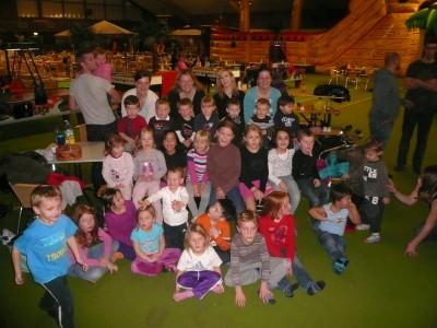 TSG Irlich - Kinderturngruppe bei der Weihnachtsfeier 2012