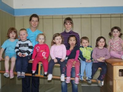 TSG Irlich - Mutter-Kindturnen - die Gruppe von 2009