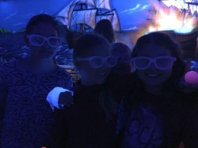 Die Kinderturngruppe feiert seine Weihnachtsfeier 2015 im Black Pearl.