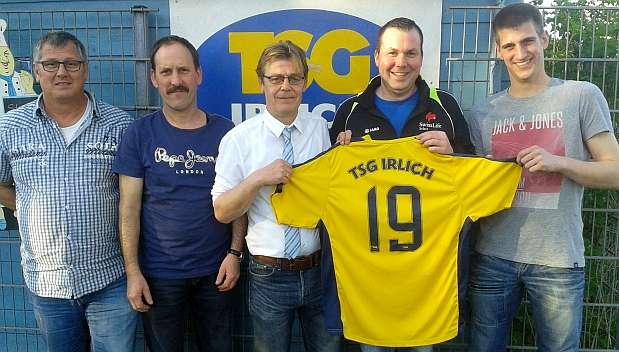 Die TSG Irlich präsentiert ihren neuen Trainer ab der Saison 2016/17: Michael Schneider