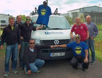 AH-Ü50 der TSG Irlich machen sich auf den Weg zum niederländischen Teil von Friesland.