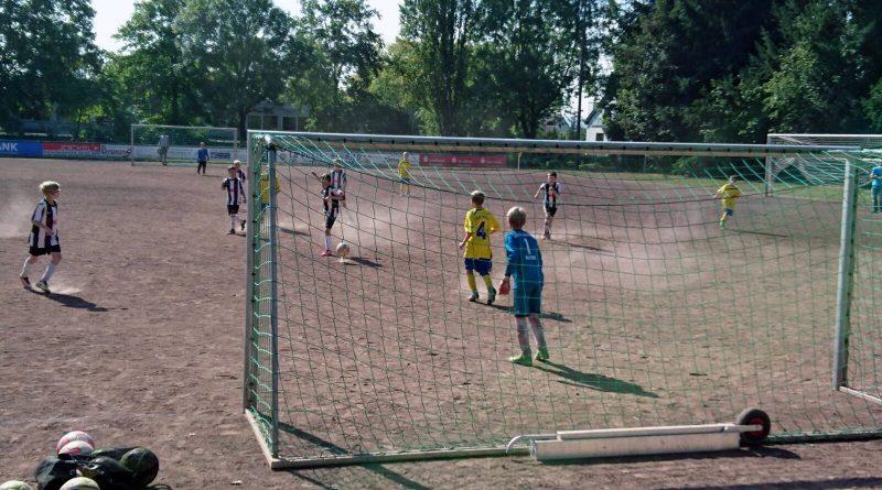 8 Tore beim E-Jugend-Spiel gegen den FV Rheinbrohl