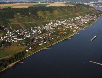 Leutesdorf am Rhein ist das neueste Ziel der Wanderer der TSG Irlich • Bildquelle: https://de.wikipedia.org/wiki/Leutesdorf