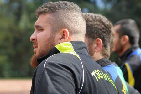 Auf dem Kieselborn hat die TSG auch für ihren Verletzten Kameraden Björn Dahlem gekämpft.