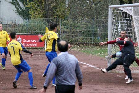 Die TSG Irlich nutze ihre Möglichkeiten gegen den SV Ataspor Unkel zu wenig.