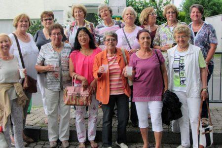 Auch die Damen aus dem Gymnastikkurs für Frauen treffen sich gerne mal außerhalb der Sporthalle.