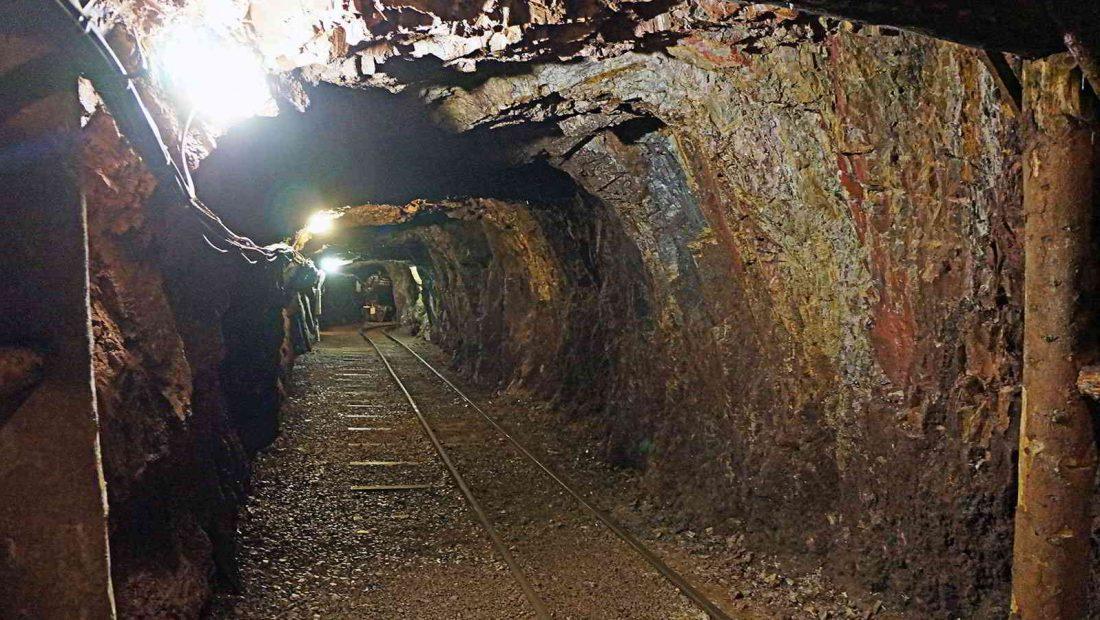 Die TSG Irlich besichtigt die Grube Bindweide, die seinerzeit über 5 Mio. Tonnen Eisenerz förderte.