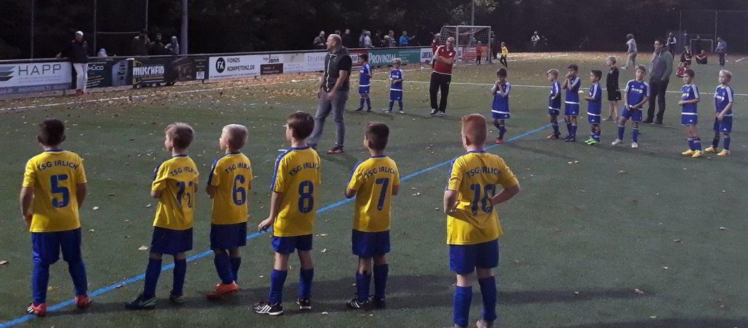 F-Jugend spielte in Feldkirchen im Quadrat