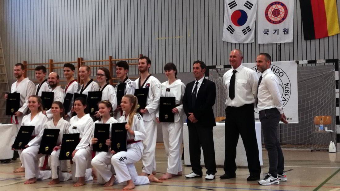 Die Taekwondo Skorpions holen drei weitere Meistertitel für die TSG Irlich.