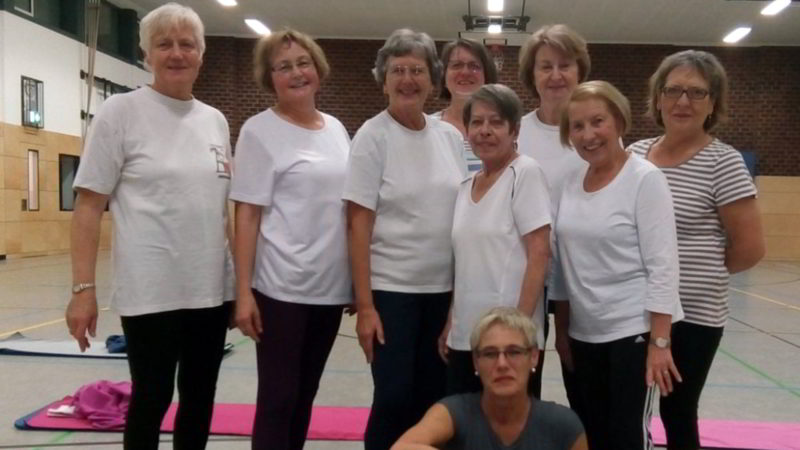 Die Gruppe der Frauengymnastik der TSG Irlich im zweiten Halbjahr 2017.