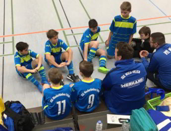 Nach der dritten Runde war die diesjährige Futsal-Saison für die D-Jugend der JSG Wied/Irlich beendet. Unzufrieden sind die Trainer mit den gezeigten Leistungen aber keineswegs.