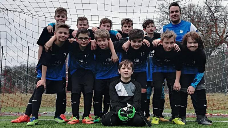 Das Team der Irlicher D-Jugend hat sich möglichst gut auf die Rückrunde vorbereitet.
