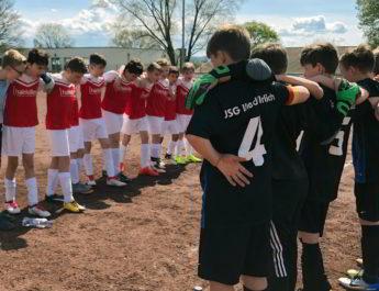 Die D-Jugend-Mannschaft der JSG Wied/Irlich war innerhalb von kürzester Zeit zwei Mal erfolgreich.