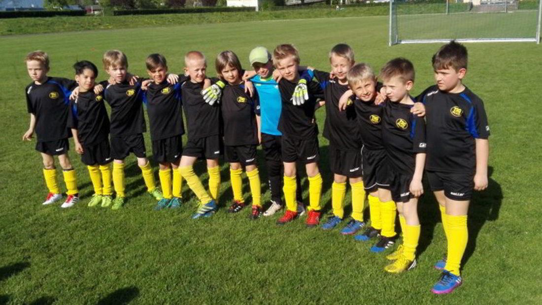 Die zweite F-Jugend spielte beim Heimatsportverein Neuwied.