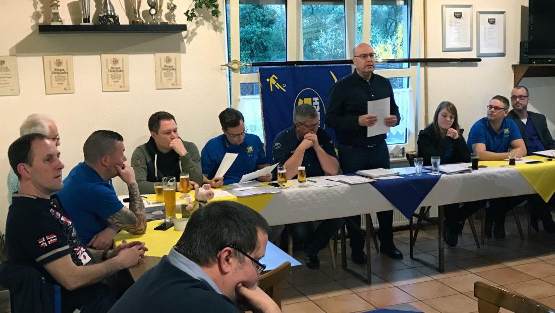 Es war die letzte Moderation des langjährigen Vorsitzenden Markus Josten der Mitgliederversammlung.