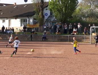 Die F-Junioren I waren gegen die JSG Ellingen II mit 4:1 erfolgreich.