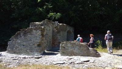 Die Ruine einer alten Schmelzhütte im Selbachtal ist immer wieder einen Blick wert.