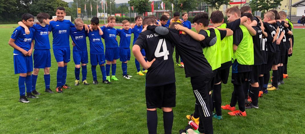 D-Jugend spielte erfolgreiche Saison 2017/18