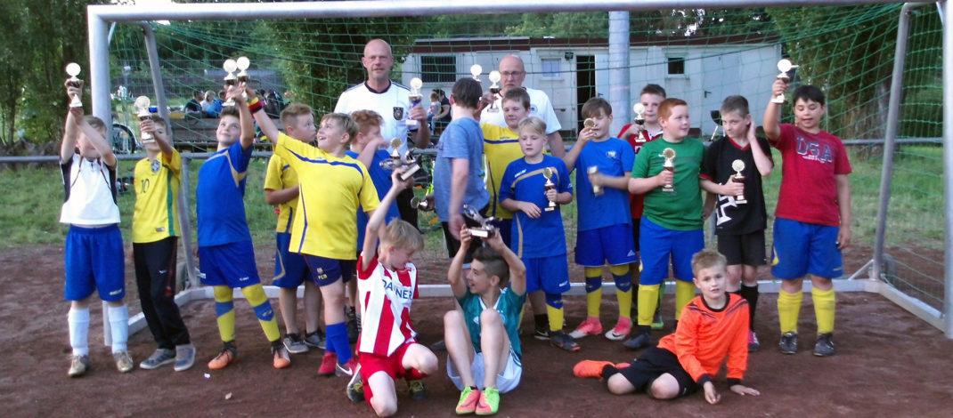 TSG zählt weiterhin rund 100 aktive Jugendfußballer