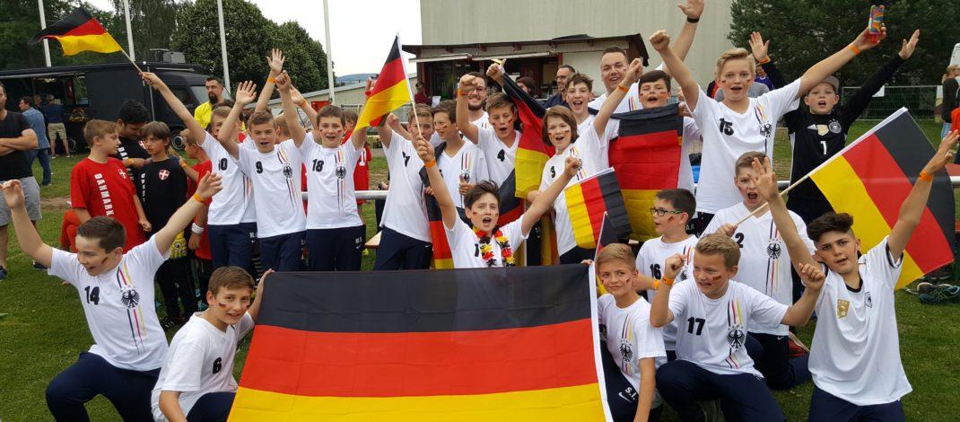 D-Jugend war bei der Mini-WM in Kaiserslautern aktiv