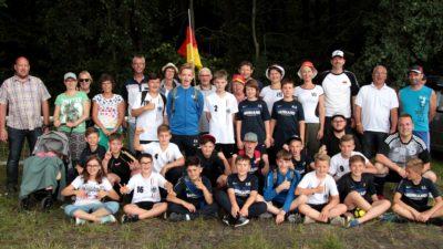 Alle beteiligten der JSG Wied/Irlich bei der Mini-WM in Kaiserslautern.