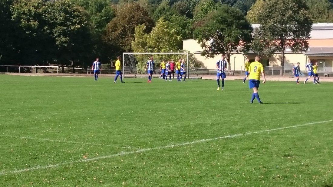 Leider zur Nebensache geworden: Das Spiel zwischen dem VfL Wied niederbieber und der TSG Irlich endete mit 6:2.