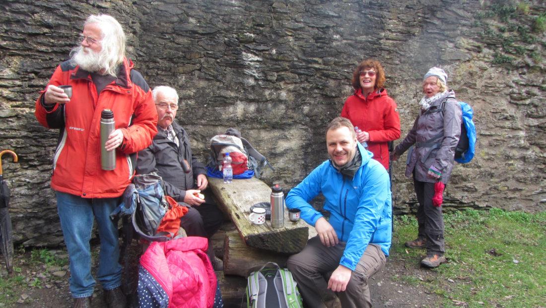 Die TSG Irlich ist auch wieder 2019 auf Wanderung. Hier war die Gruppe auf der Wällertour Augst.