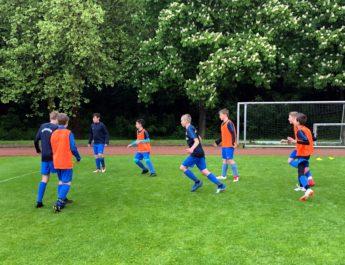 Die D-Jugend der JSG Wied / Irlich arbeitet weiterehin an einer gelungenen Saison.