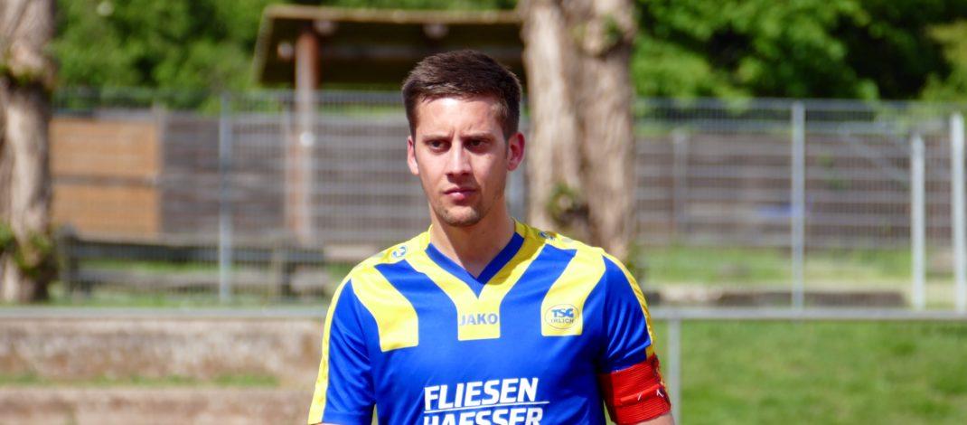 TSG-Kapitän Marvin Sasse muss mit seiner Mannschaft den bitteren Abstieg in die Kreisliga D hinnehmen.