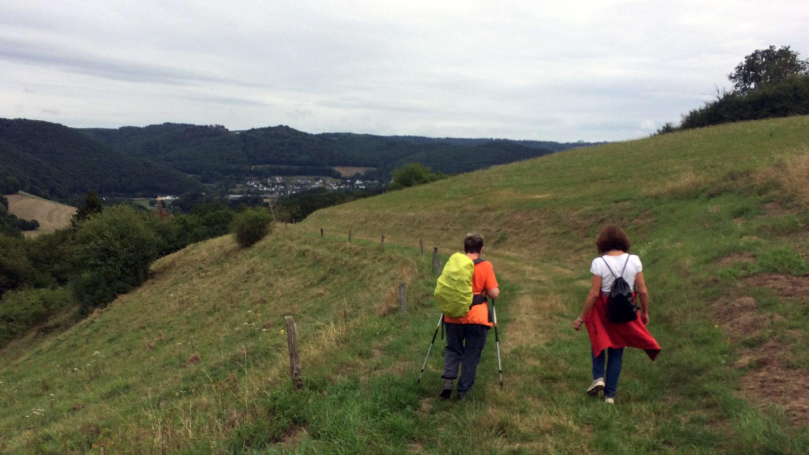 """Die TSG auf dem """"Roßbacher Kapellenweg"""""""