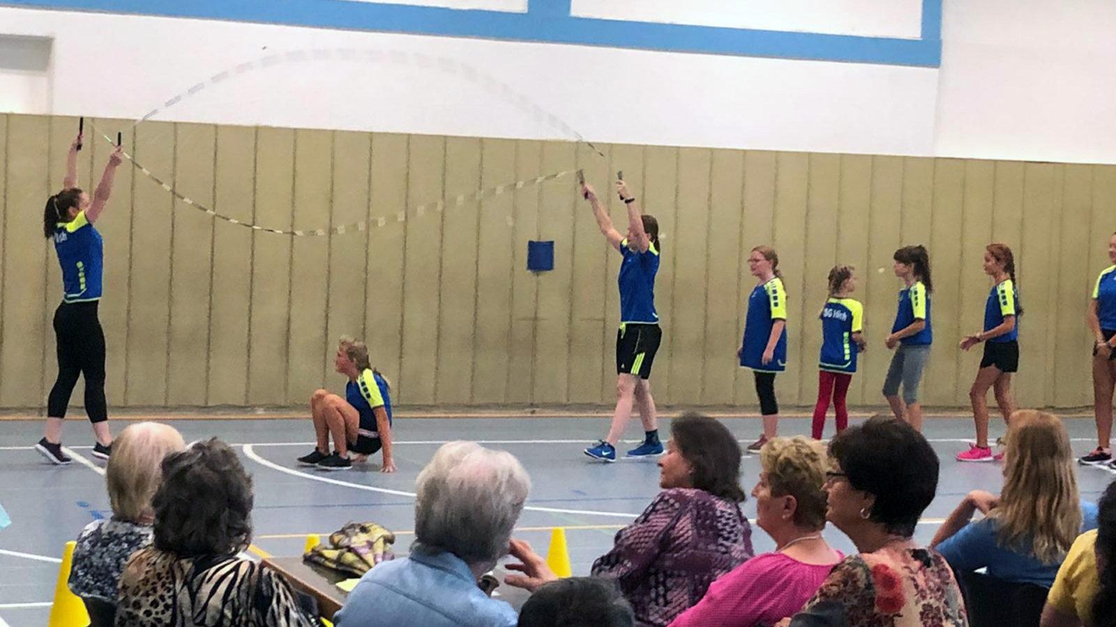 Pfarrfest 2019: Rope Skipping