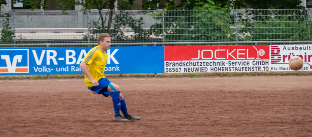 Pokalheld Niklas Kochhäuser fehlte der TSG Irlich sichtlich bei der 0:1-Niederlage gegen die SG Neuwied.