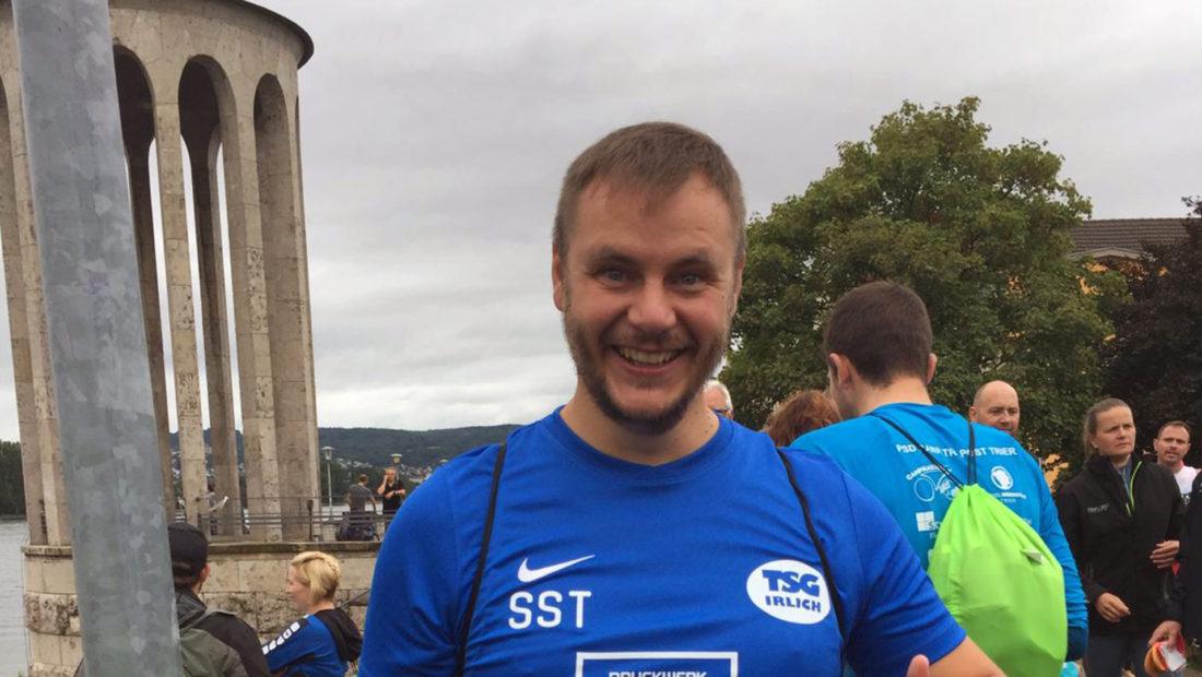 Der Neuwieder Raiffeisentriathlon 2019 war der erste Triathlon für Sebastian Schmidt und die TSG Irlich.
