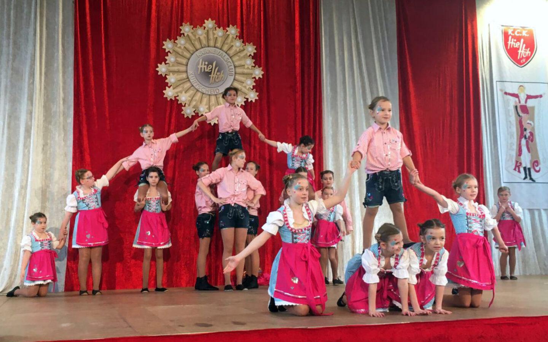 """Die """"Little Diamonds"""" sind die Tanzgruppe für die Jüngsten in der TSG Irlich."""