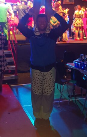 Tänzer Funky Diamionds