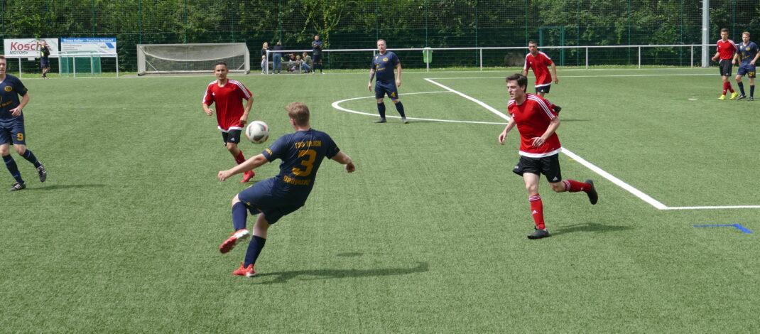 Viel Offensivpower beim Spiel gegen den SV Melsbach II